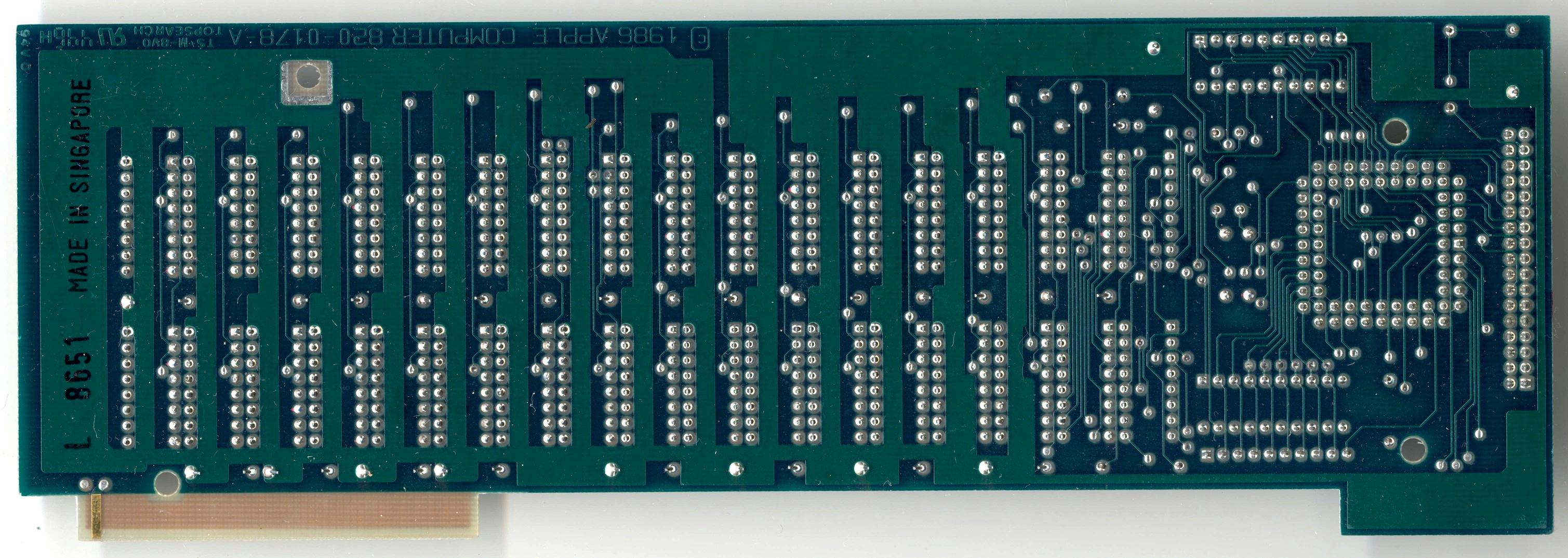 Apple IIc Memory Expansion Card