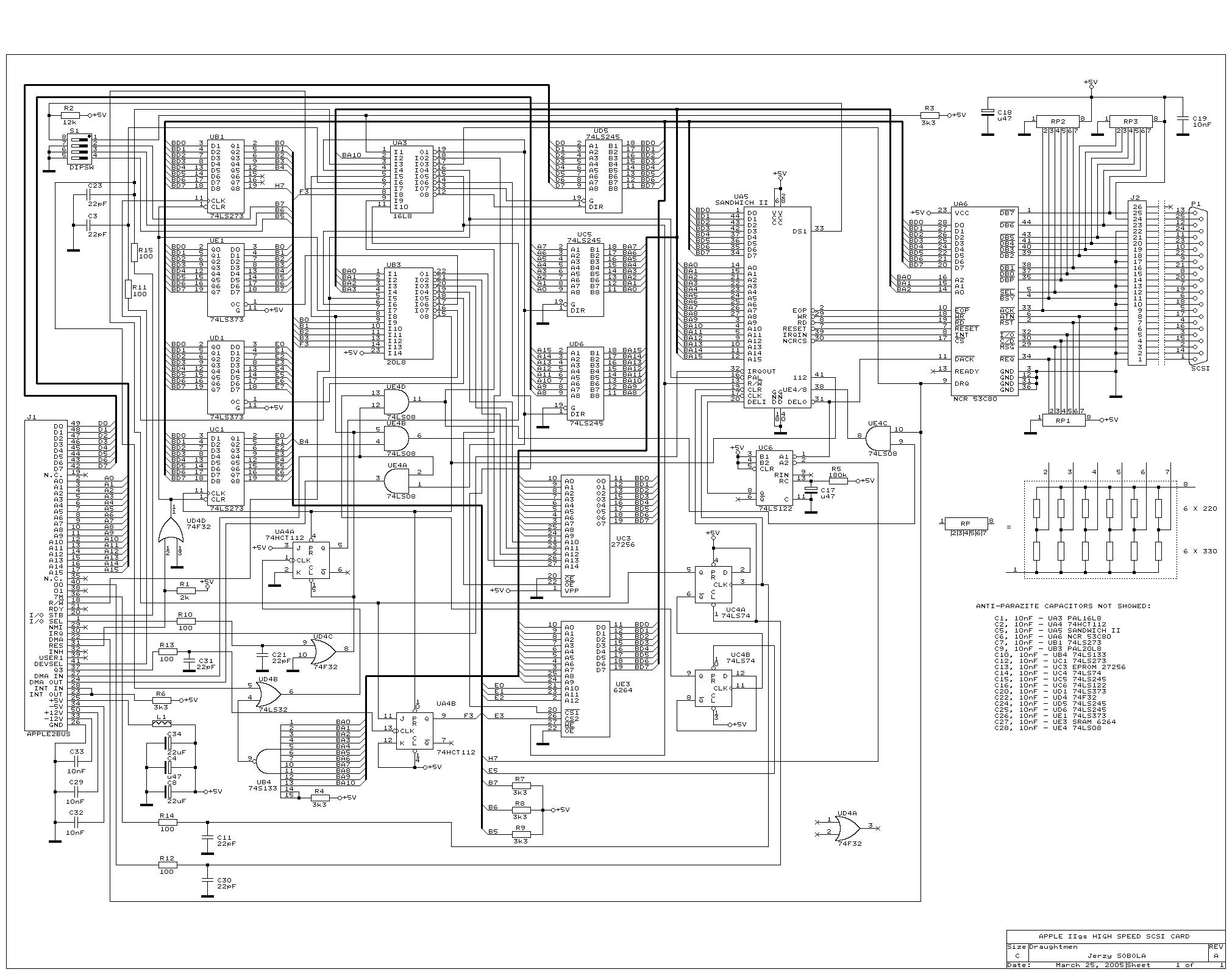 Apple 2 Circuit Diagram Schematics Wiring Diagrams Gm Radio 16169165 Apple2 Org Za Mirrors Rh Simple Electronic