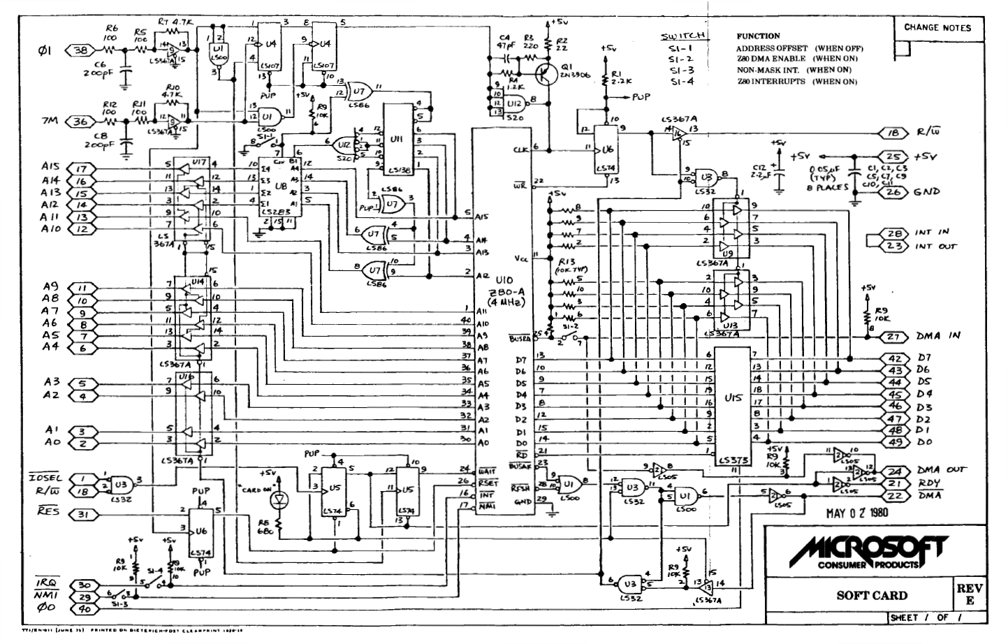 Z80 Schematic Circuit Diagram - Residential Electrical Symbols •
